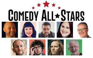 Comedy All Stars at the Bruce Mason Centre Comedy Club
