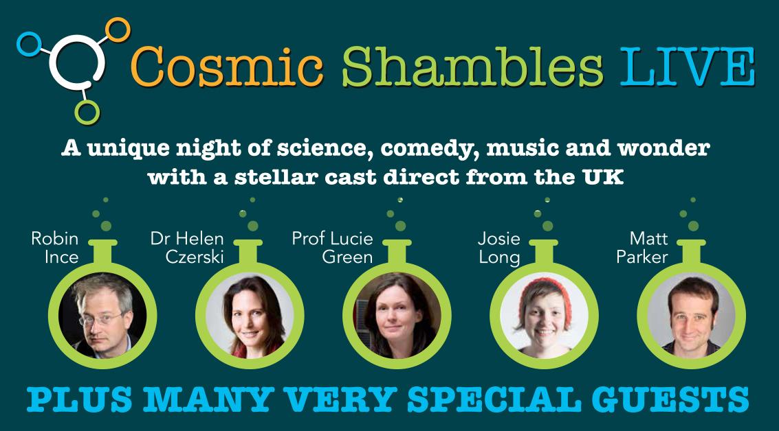 Cosmic Shambles LIVE