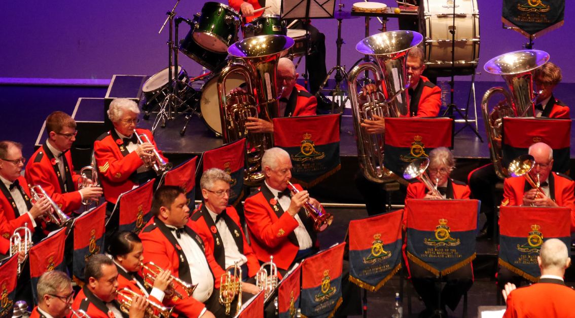 The Band of the Royal Regiment of NZ Artillery