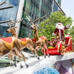 The Farmers Santa Parade is gearing up for the festive season