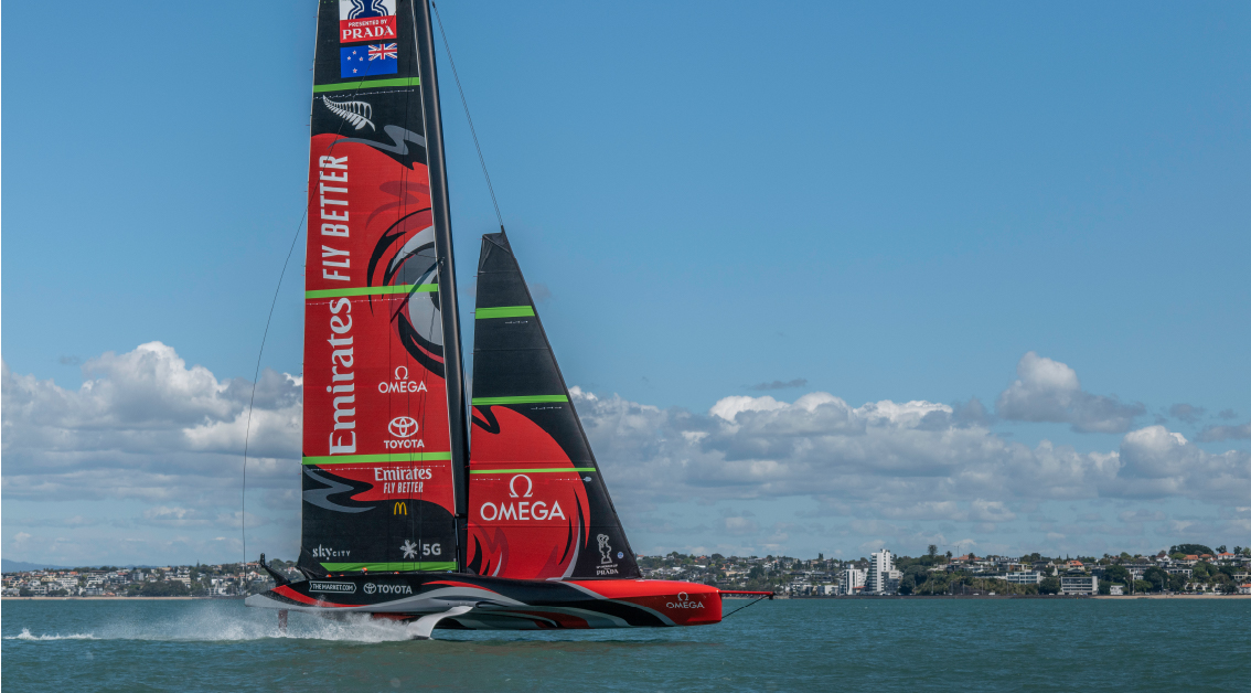 The 36th America's Cup Race Live on Screen
