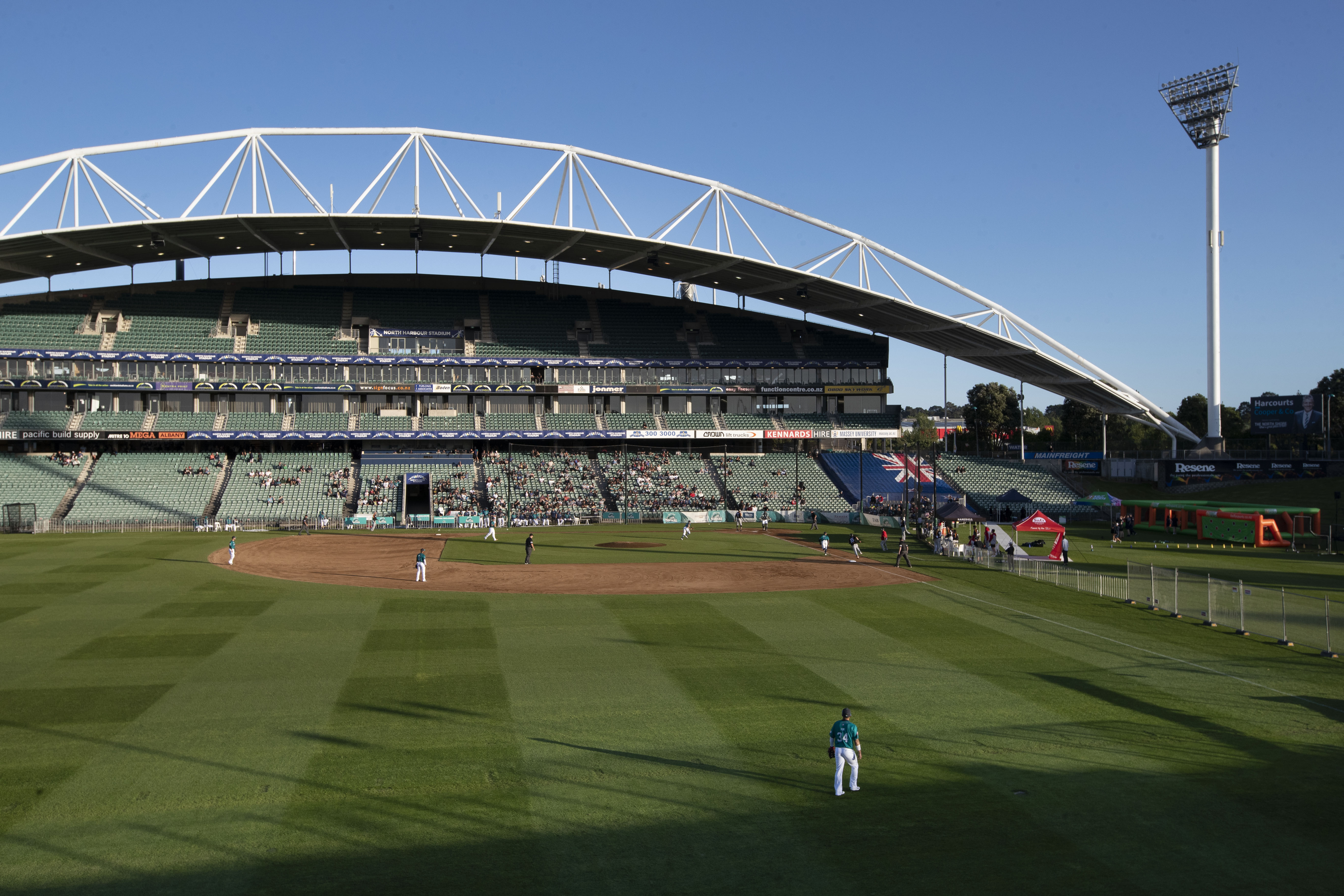 North Harbour Stadium voted Australian Baseball League best