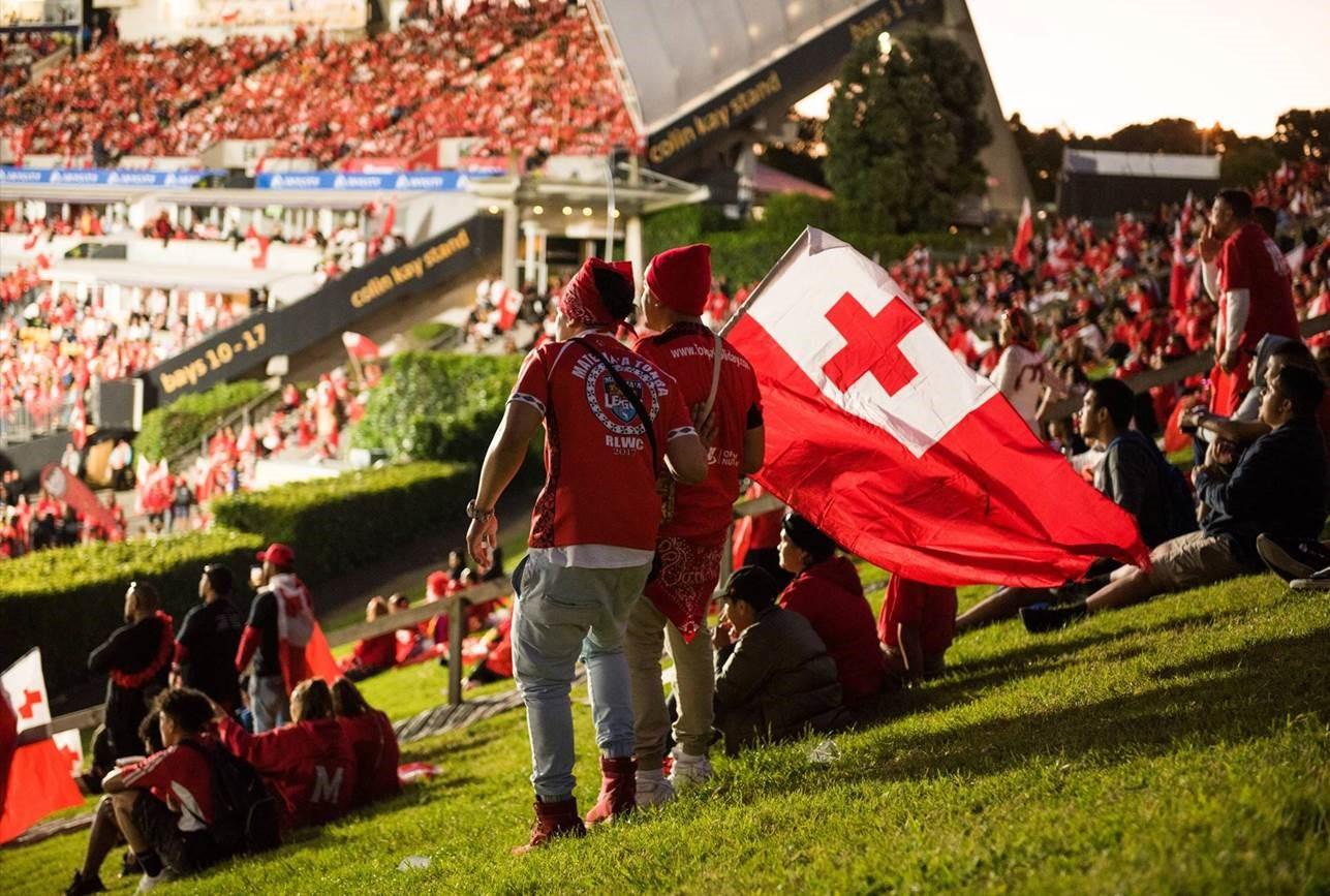 Kiwis v Tonga