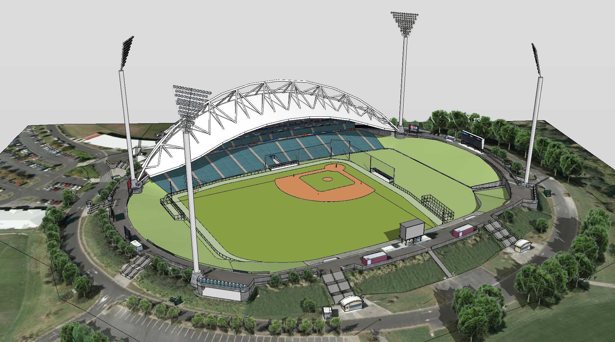 North Harbour Stadium Transformation