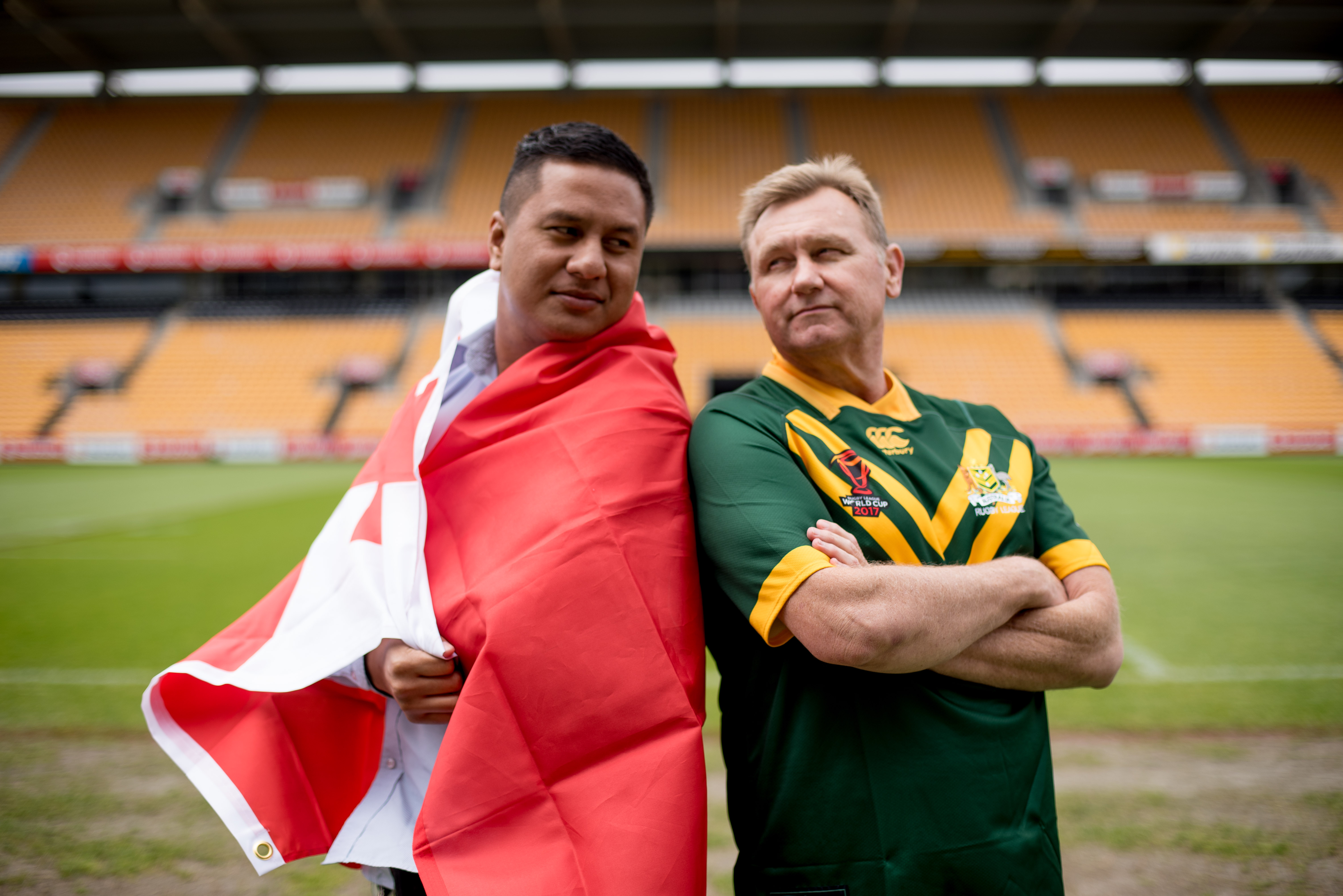 Rivalry Strong for Stadium Management Duo